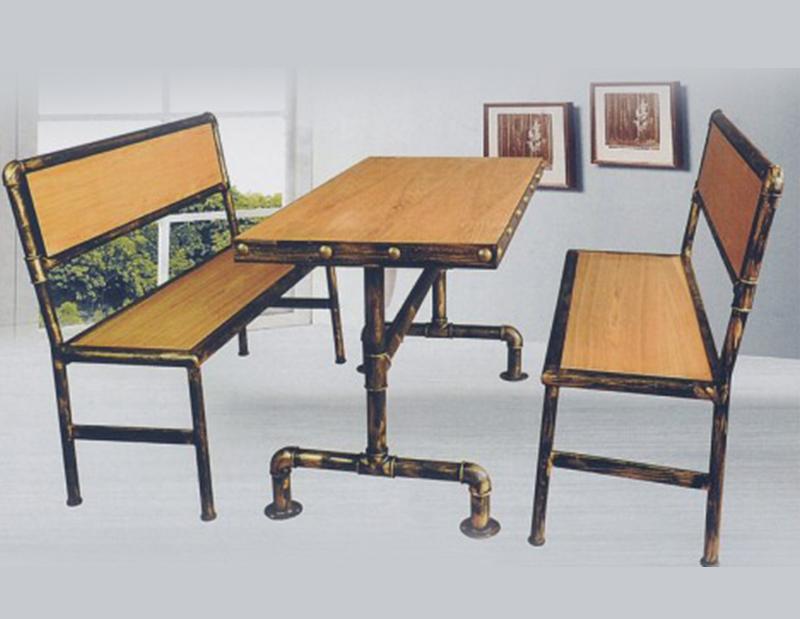 南充连坐餐桌椅