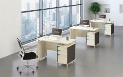 南充办公白色电脑桌