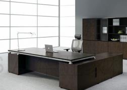 南充华亚黑色办公桌