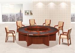 南充简单圆形会议桌
