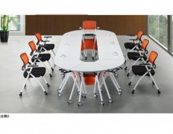 南充椭圆教学桌椅