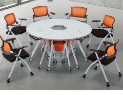 南充圆形教学桌椅