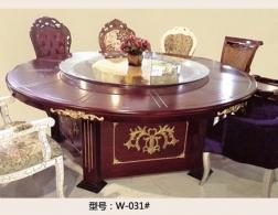 南充W-031桌椅
