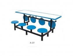 南充A-23桌椅